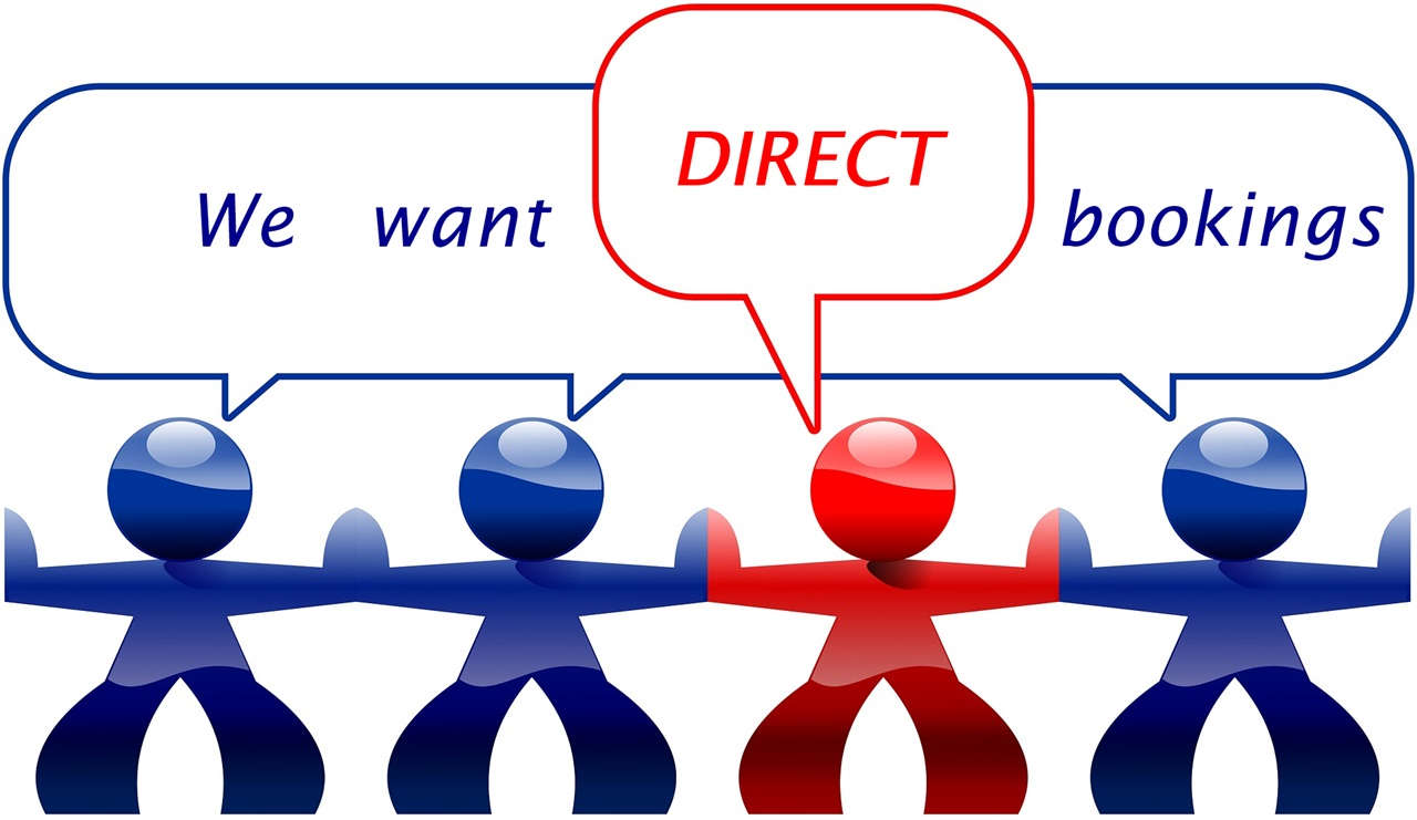 We want more direct bookings