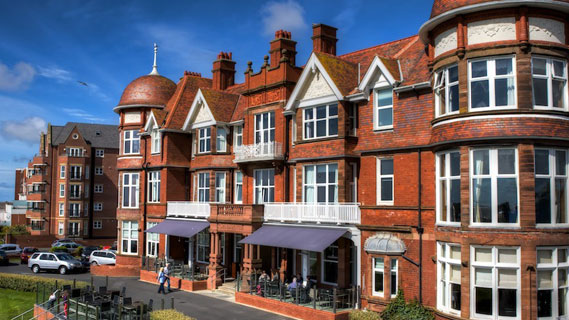 Clock PMS customers: The Grand hotel Lytham St. Annes, UK